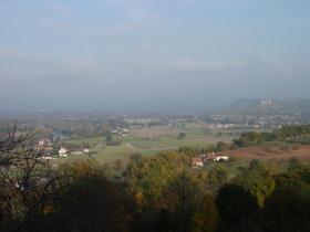 vallée de la Dordogne et château de Castelnau-Bretenoux