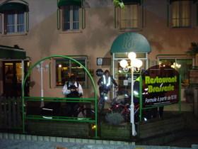 dernier repas au restaurant à Gramat