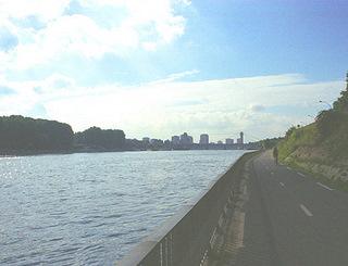 piste cyclable de la Seine