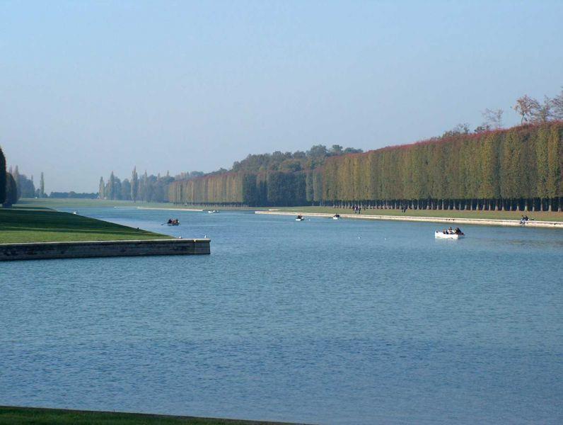 Versailles - le grand canal