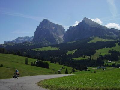 sur l'Alpe di Siusi