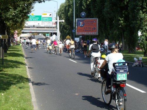 Pas d'embouteillage malgré une forte fréquentation
