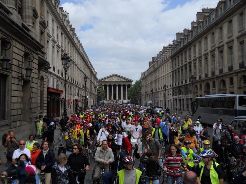 la grande parade rue Royale