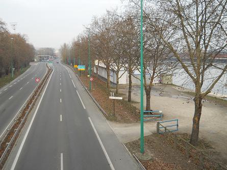 Voie rapide à Argenteuil