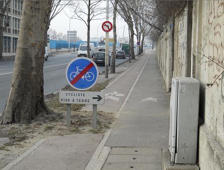 Gennevillers près du pont d'Argenteuil