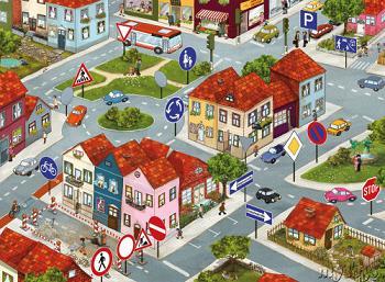 Code de la route : un jeu d'enfant ?